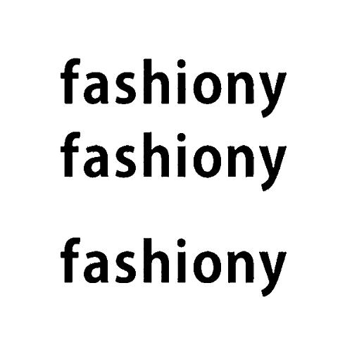fashion-y